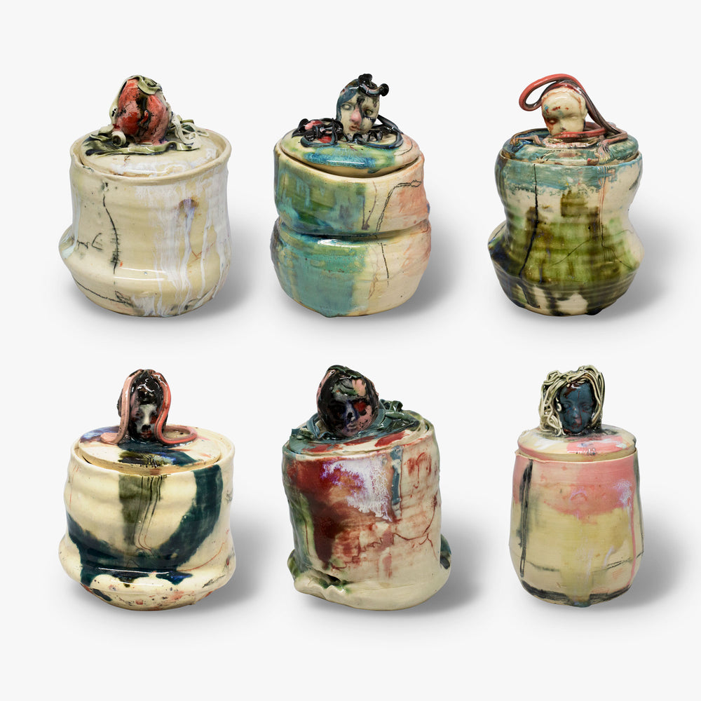 Jennie Jieun Lee Ceramic Jars