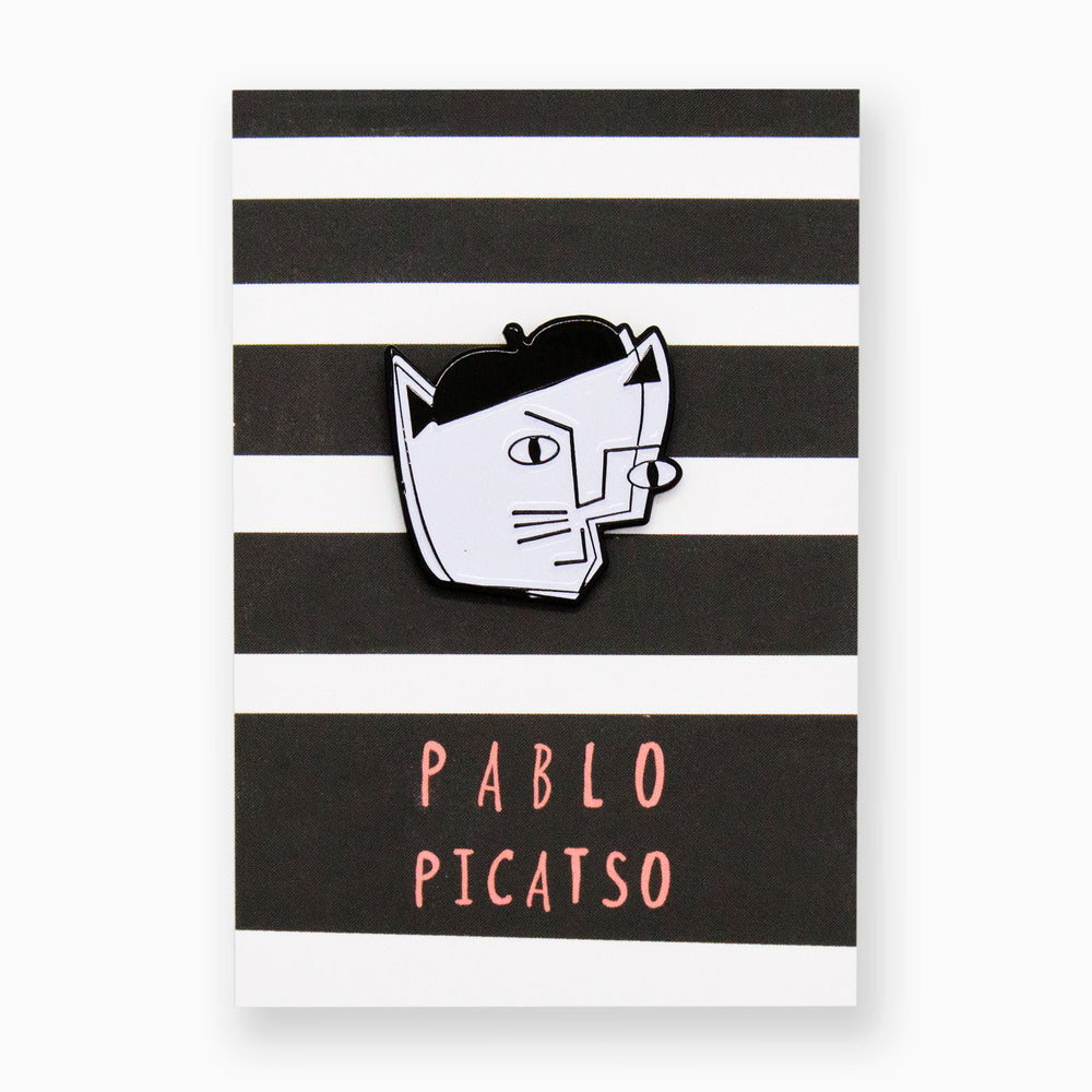 Load image into Gallery viewer, Pablo Picatso Artist Cat Pin