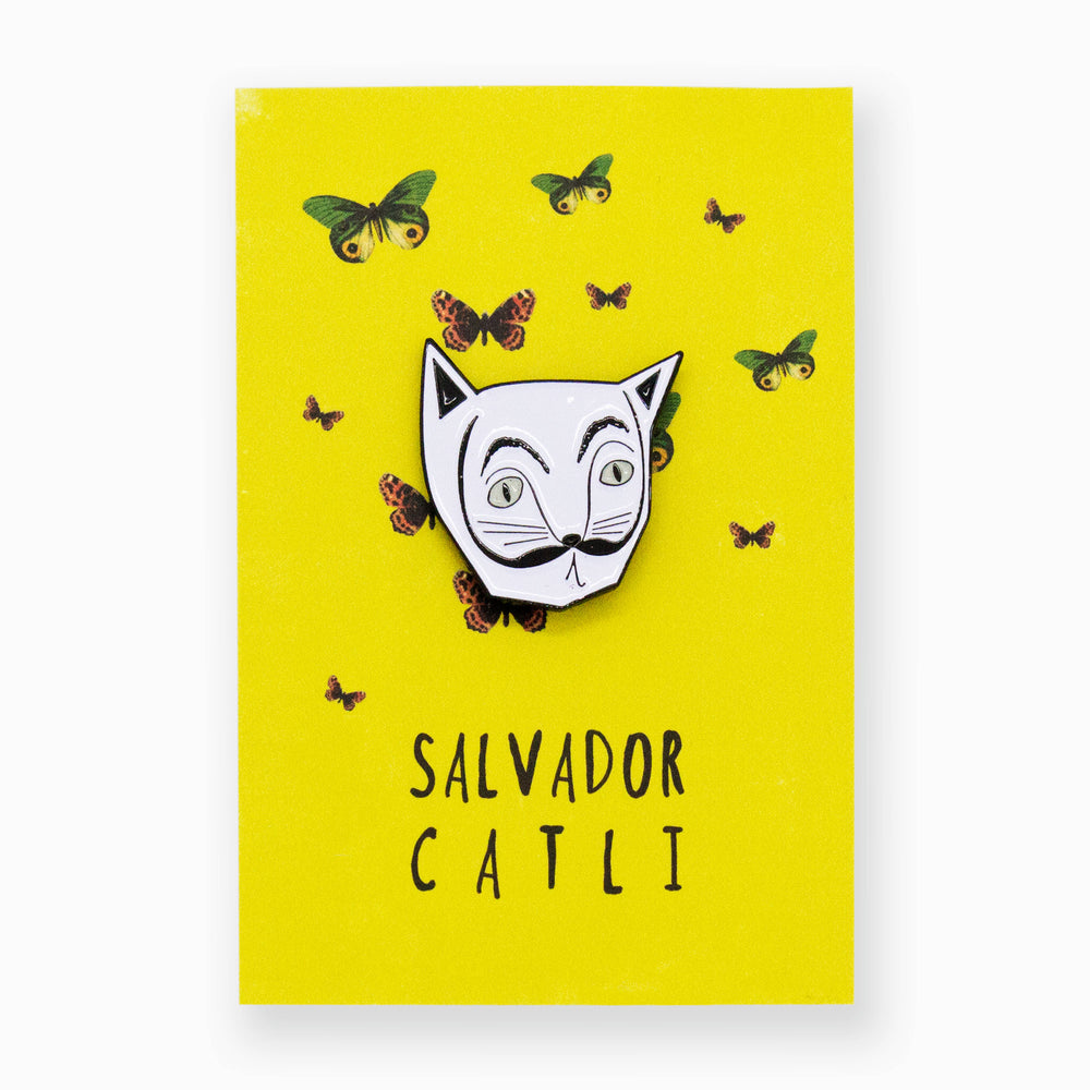 Load image into Gallery viewer, Salvador Catli Artist Cat Pin