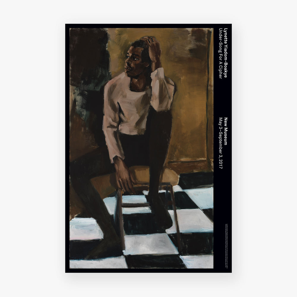 Lynette Yiadom-Boakye Poster: Medicine at Playtime