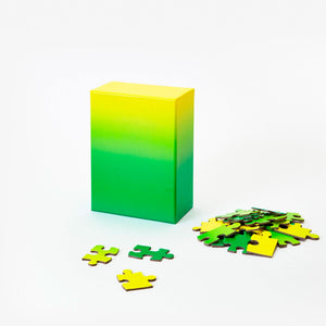 Small Gradient Puzzle: Green/Yellow
