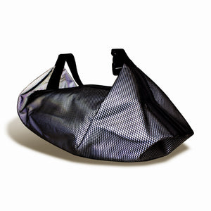 Load image into Gallery viewer, Luna Reflective Mesh Small Bag