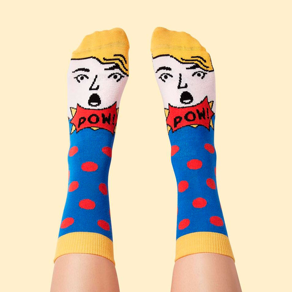 Load image into Gallery viewer, Roy Lichtenstoe Socks