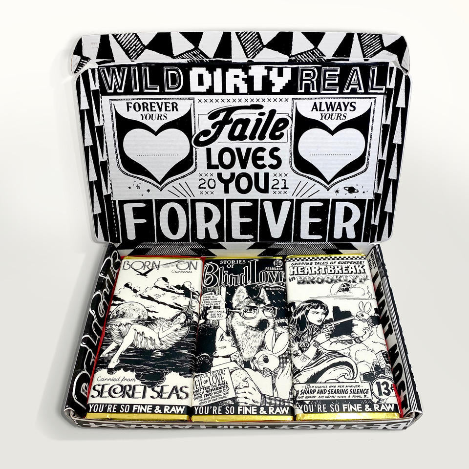 FAILE x Fine & Raw Chocolate: Romance Magic
