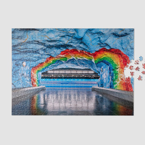 Load image into Gallery viewer, Subway Art Puzzle
