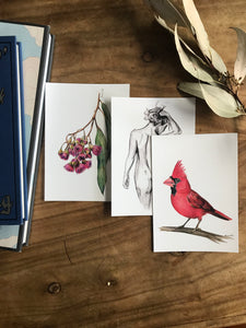Art Postcard Subscription - Monthly