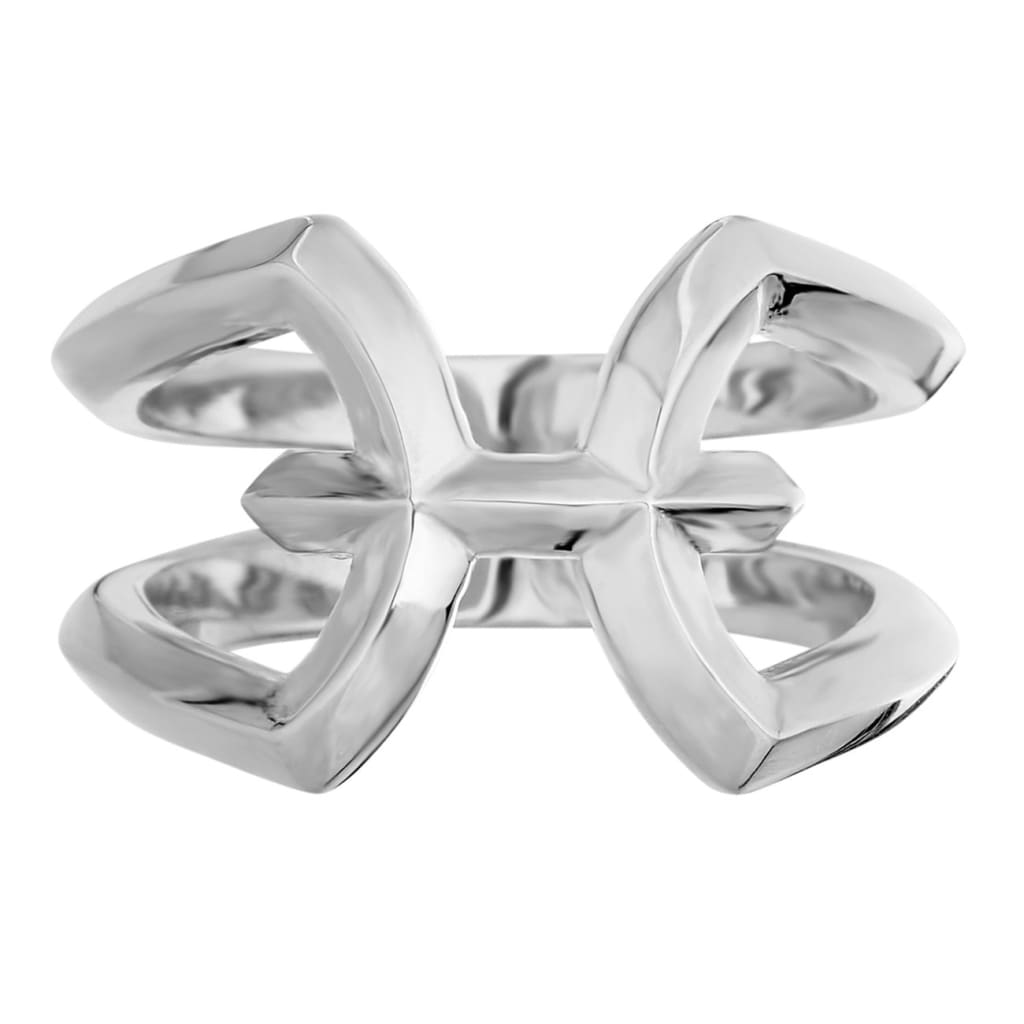 MXBX silver Pisces Zodiac ring - G / Silver - ring