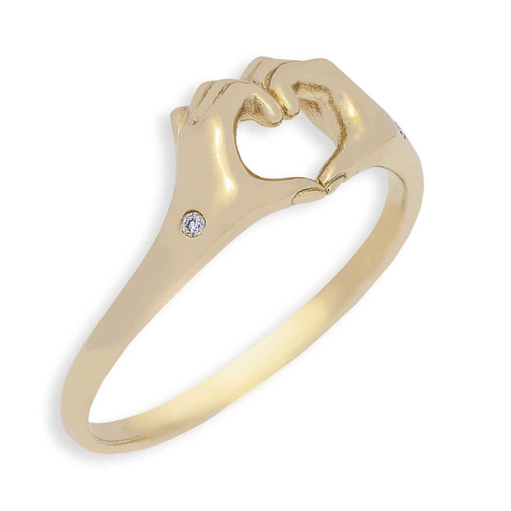Origin 31 gold and diamond One Love ring - I - ring