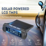 Solar Powered Car Tire Pressure Monitoring System - Indigo-Temple