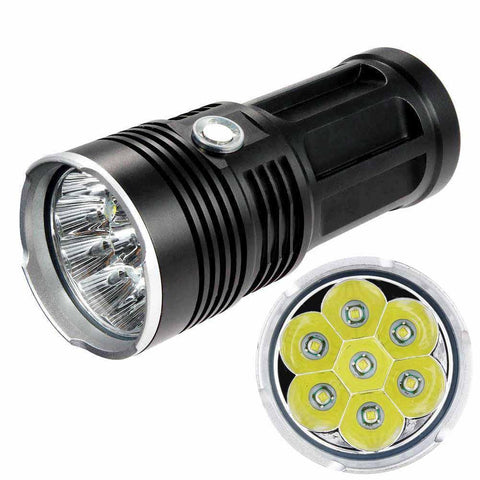 7X LED 21000 LM Ultra Powerful Torch - Indigo-Temple