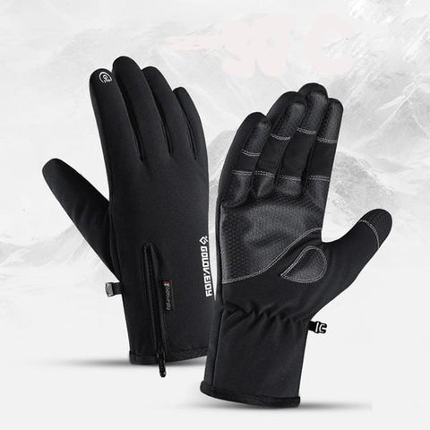 InnerSummer™ Touch Screen Waterproof Anti Slip Thermal Gloves - Indigo-Temple