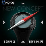 Multi-functional Compass Watch (2 colors) - Indigo-Temple