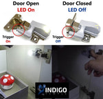 Universal Cabinet Hinge LED Auto-Lights (10 PER PACK) - Indigo-Temple