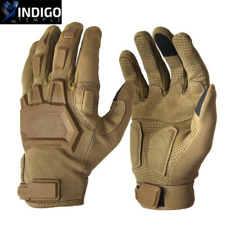 Outdoor Flexion Military Gloves - Indigo-Temple