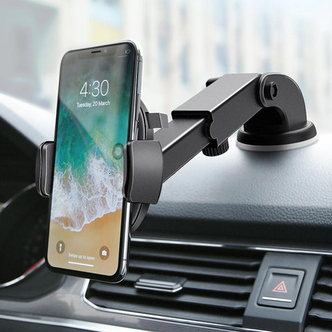 AUTOLOCK™ Universal Auto-Locking Phone Mount - Indigo-Temple
