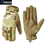 Tactical Military Thermal Gloves - Indigo-Temple