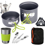Ultimate Compact Outdoor Cookware Set - Indigo-Temple