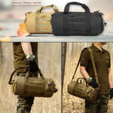 20L Military Tactical Hand & Shoulder Bag - Indigo-Temple
