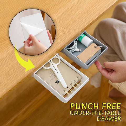 SpaceSaver™ Punch-Free Invisible Drawer