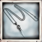 Spear -  Pendants Necklace - Indigo-Temple