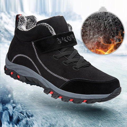Waterproof Fur Winter Boots For Men