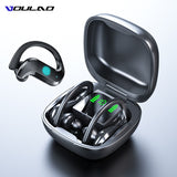 VOULAO™ TWS 9D Audio Wireless 5.0 BT Sporty Earphones With Charging Case