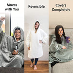 BodyBlanket™- Plush Wearable Blanket Sweatshirt