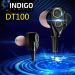 Dual-Drivers Wireless BT Headset - Indigo-Temple