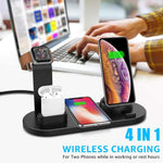 ChargingCastle™ 4 in 1 Qi Fast Wireless Charger Dock Station