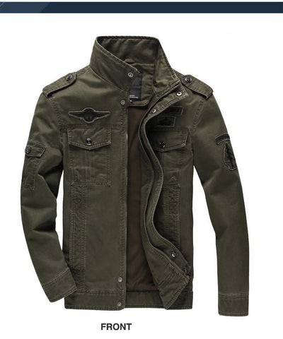 Air force Military Jacket (2 colors) - Indigo-Temple