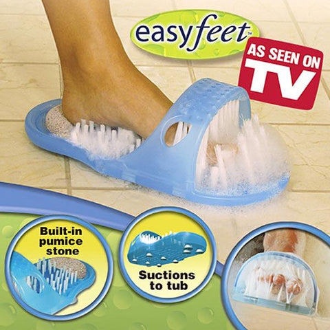 EasyFeet - Shower Feet Cleaner & Massager - Indigo-Temple