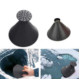 SuperScraper™ - Windshield Ice & Snow Scraper (2 pcs) - Indigo-Temple