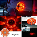 2 X Magnetic LED Emergency Safety Flares (2 pcs) - Indigo-Temple