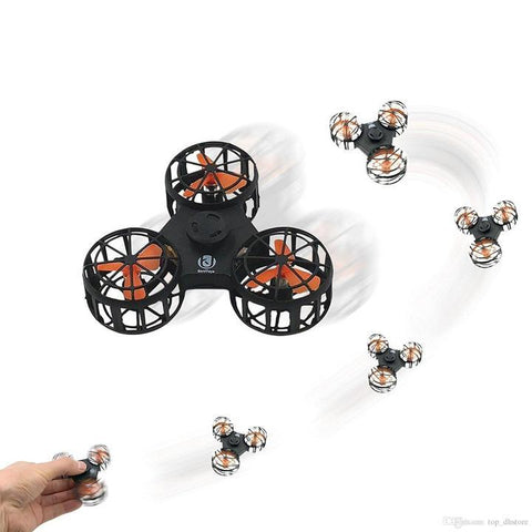 Automatic Flying Fidget Spinner Drone - Indigo-Temple