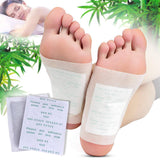 Natural Body Detoxifying Foot Patches (10 pcs pack) - Indigo-Temple