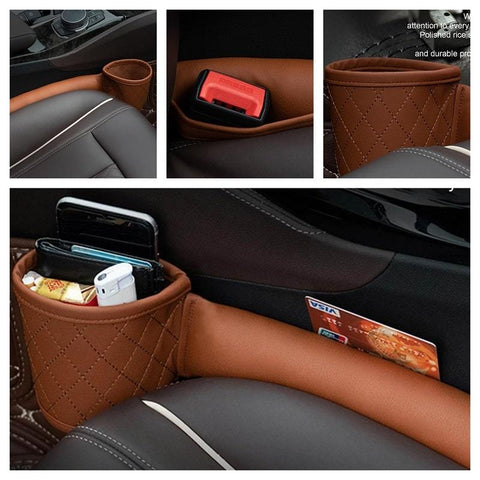 Multifunctional Car Gap Filler With Pocket