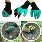 Garden Gloves with 4 Claws - Indigo-Temple
