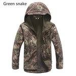 TACTICAL SHARKSKIN SOFT SHELL WATERPROOF JACKET (free shipping) - Indigo-Temple