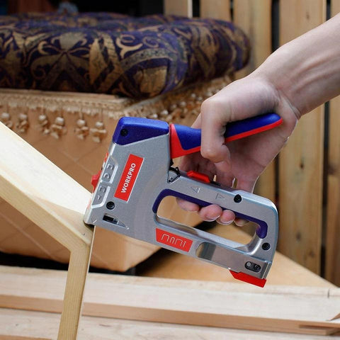 WORKPRO™ 4 IN 1 Heavy Duty Staple Gun with 4000 Staples