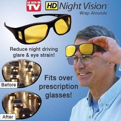 VISION™ Anti-Glare Driving Glasses - Indigo-Temple