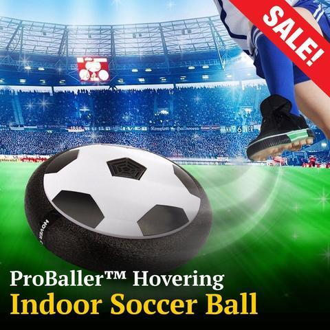 PROBALLER™ HOVERING INDOOR SOCCER BALL - Indigo-Temple