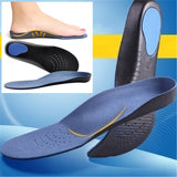 3-Point Relief and Realignment Orthopedic Insoles - Indigo-Temple