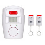 Wireless IR Motion Sensor Alarm Security System - Indigo-Temple