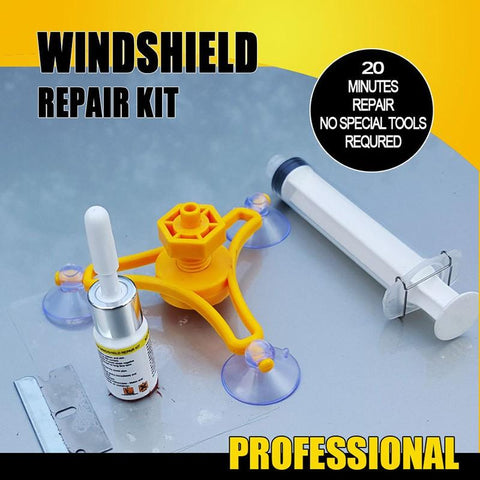 Super Windshield Repair Kit - Indigo-Temple