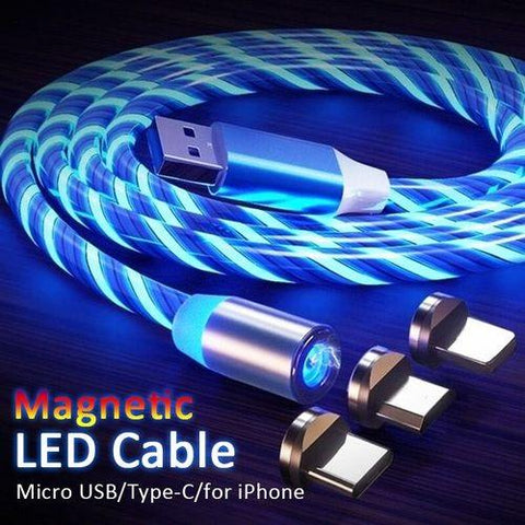 Luminous Magnetic Fast Charging Cable