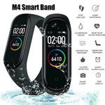 M4™Leading-Edge Fitness & Health Tracker Smart Watch (Android & IOS) - Indigo-Temple