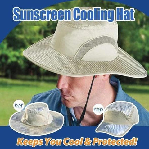 IceHat™ UV Protection Self Cooling Ice Cap