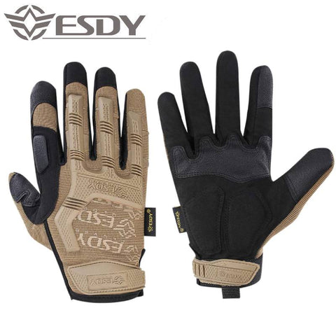 Maximum Impact Anti-Slip Tactical Gloves - Indigo-Temple