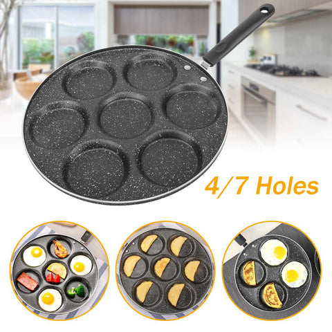 Non-stick Frying Multi-Pan With Built-In Cups