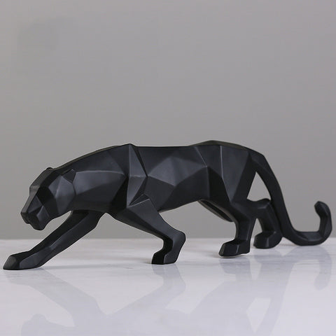 ERMAKOVA™ Panther Resin Statue Decoration
